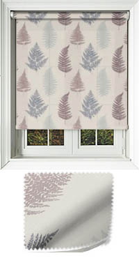 Grove Grape Bifold Doors Blind