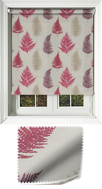 Grove Redcurrant Cordless Roller Blind