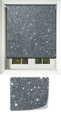 Gunmetal Grey Glitter