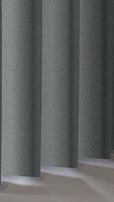 Hammered Pewter Rigid Metal Vertical Blinds Thumbnail