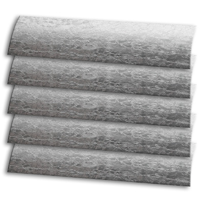 silver white texture textured venetian blinds 15mm 25mm 35mm 50mm slats