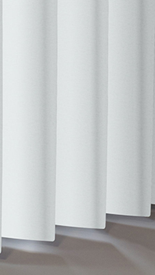 Hammered White Rigid Metal Vertical Blinds Thumbnail