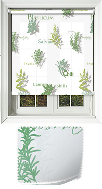 Herbage Basil Replacement Vertical Blind Slat