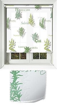 Herbage Basil Roller Blind