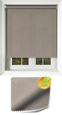 Husk Solar Chestnut Skylight Blind