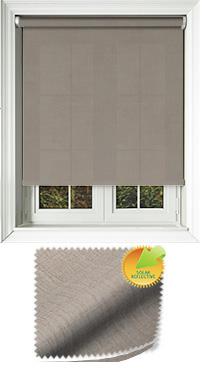 Husk Solar Chestnut Wooden Blind