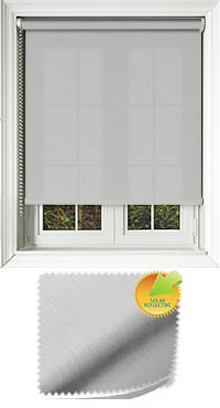 Husk Solar White Oak Vertical Blind