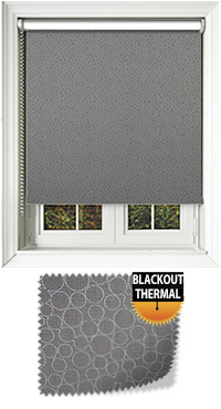 Illusion Blackout Elephant Roller Blind