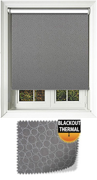 Illusion Blackout Elephant Motorised Roller Blind