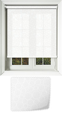 Illusion Meringue Replacement Vertical Blind Slat