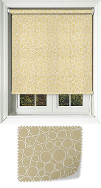 Illusion Praline Replacement Vertical Blind Slat
