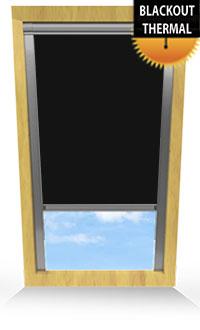 Jet Black Replacement Vertical Blind Slat