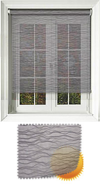 Lara Charcoal Vertical Blind