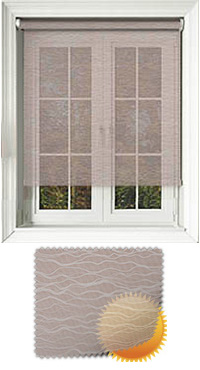 Lara Cream Cordless Roller Blind