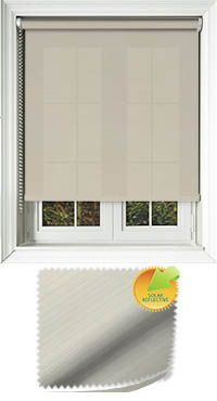 Lattice Solar Cream Vertical Blind