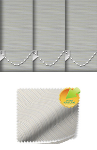 Lattice Solar Ivory Roller Blind