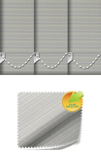 Lattice Solar Stone Cordless Roller Blind