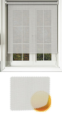 Grey Sun Screen Cordless Roller Blind