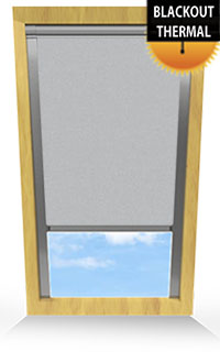 Light Grey Vertical Blind