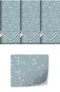 Lina Duck Egg Roller Blind