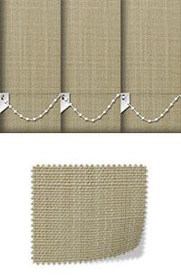 Linen Sandstone Replacement Vertical Blind Slats Swatch