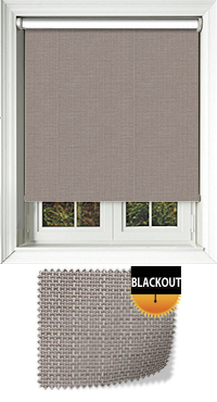 Livia Taupe Cordless Roller Blind