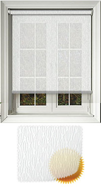 Lupin Chalk Roller Blind