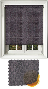 Lupin Coal Cordless Roller Blind