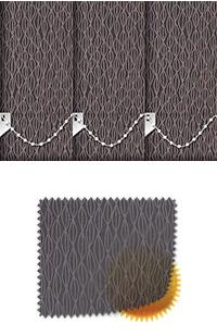 Lupin Coal Vertical Blind