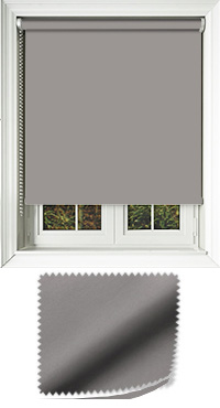 Luxe Concrete Cordless Roller Blind