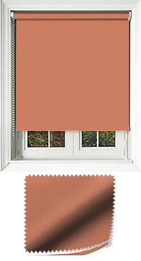 Luxe Copper Motorised Roller Blind