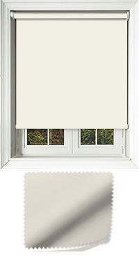 Luxe Cream Cordless Roller Blind