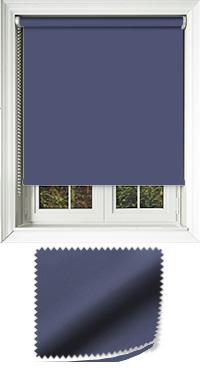 Luxe Dark Blue Skylight Blind