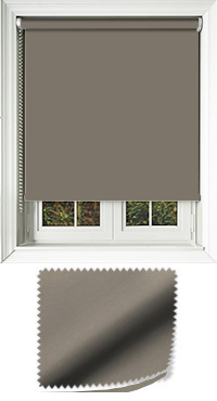 Luxe Dark Olive Vertical Blind