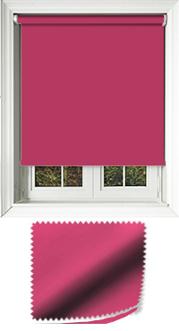 Luxe Fuschia Skylight Blind