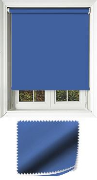 Luxe Glacier Blue Skylight Blind