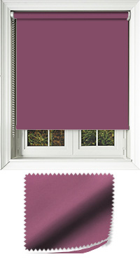 Luxe Grape Replacement Vertical Blind Slat