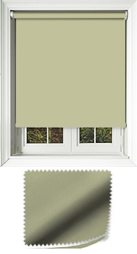Luxe Green Replacement Vertical Blind Slat