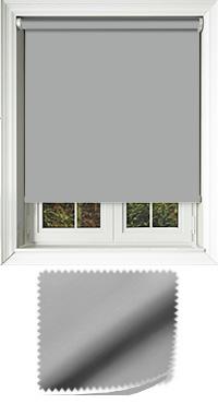 Luxe Grey Vertical Blind