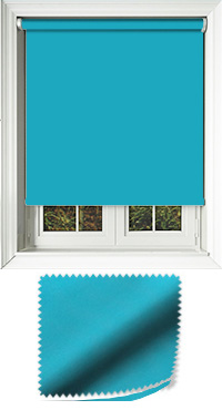 Luxe Kingfisher Roller Blind