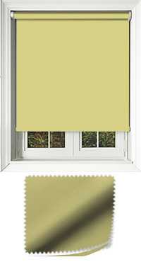 Luxe Lime Green Vertical Blind