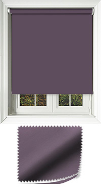 Luxe Mulberry Replacement Vertical Blind Slat
