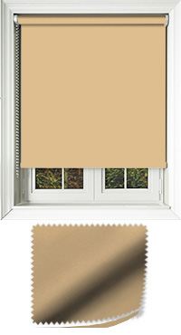 Luxe Muted Gold Vertical Blind