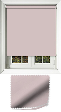 Luxe Orchid Roller Blind