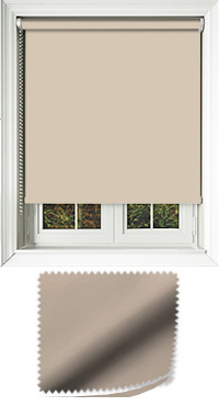 Luxe Sand Cordless Roller Blind