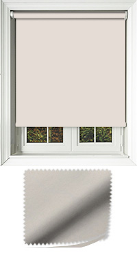 Luxe Stone Grey Wooden Blind