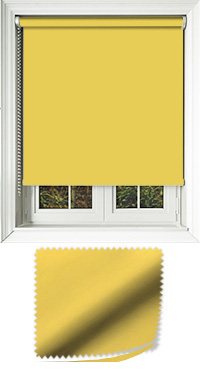Luxe Sunflower Vertical Blind