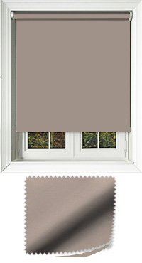 Luxe Taupe Cordless Roller Blind