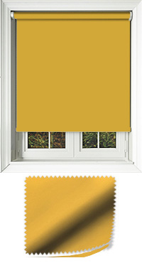 Luxe Turmeric Roller Blind