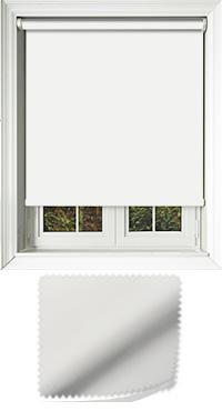 Luxe White Skylight Blind